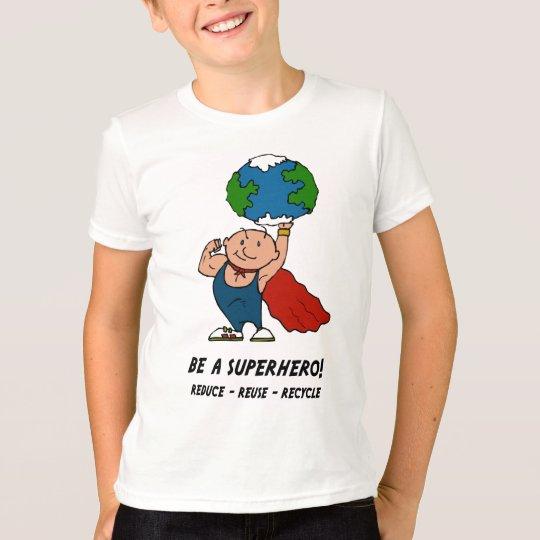 Earth Day Superhero t-shirt