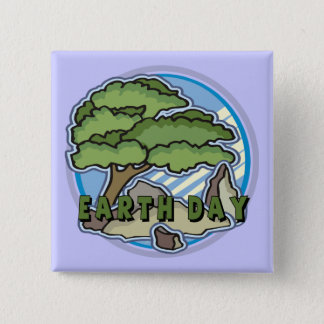 Earth Day T Shirts and Gifts Button
