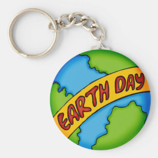 Earth Day T Shirts and Gifts Key Chain