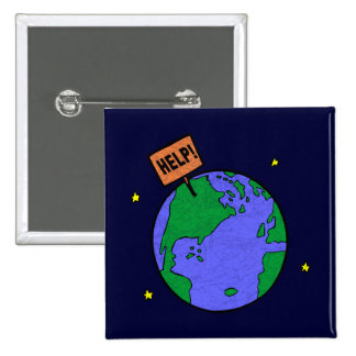 Earth Day T Shirts and Gifts Pin