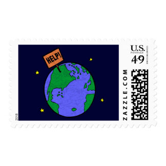 Earth Day T Shirts and Gifts Postage Stamp