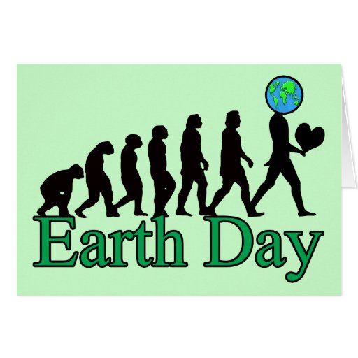 Earth Day T-Shirts Greeting Card