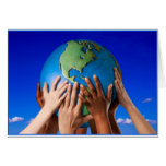 EARTH DAY THINK GREEN GREETING CARD