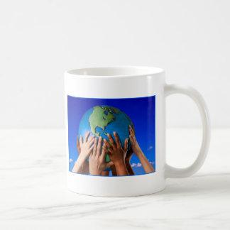 EARTH DAY THINK GREEN MUGS