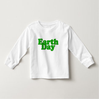 Earth Day Toddler Long Sleeve T-Shirt