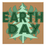 Earth Day Trees Print