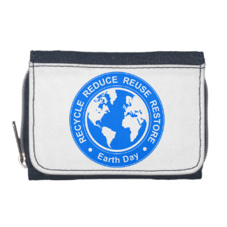 Earth Day Wallet
