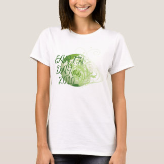 Earth Day with Scrollwork 1 T-Shirt
