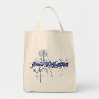Earth Day with Tree and Butterflies Tote Bag