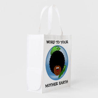 Earth Day: Word to Your Mother Reusable Grocery Bag