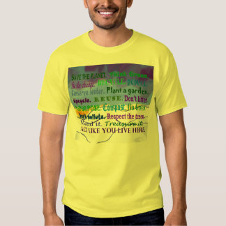 earth day words collage T-Shirt