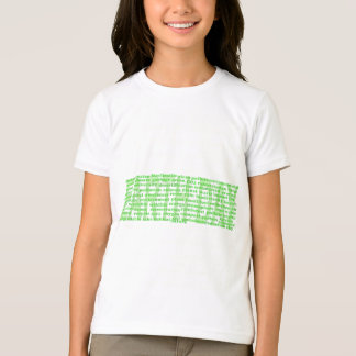 Earth Day Words T-Shirt