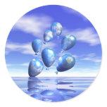 Earth Day World Balloons Sticker