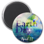 Earth Day World Magnet
