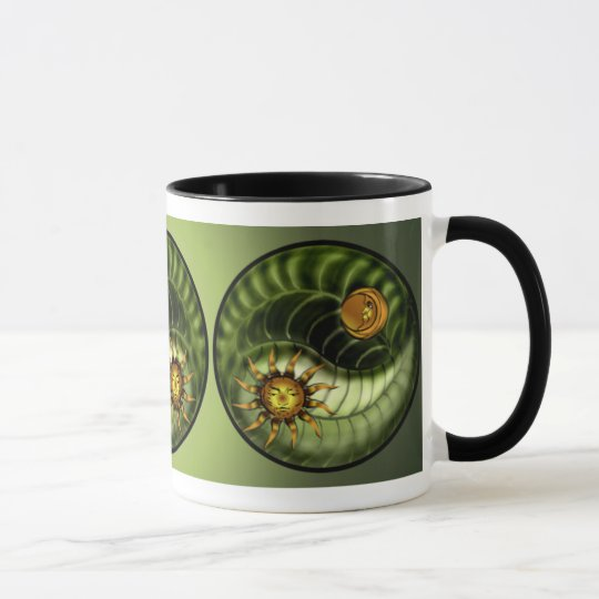 Earth Day Yin Yang Mug