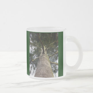 Earth Dayy Frosted Glass Coffee Mug
