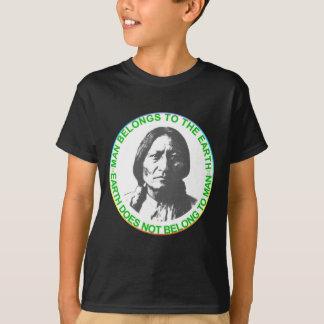 Earth does not belong to man T-Shirt