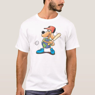 Earth Dog Baseball T-Shirt