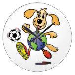 Earth Dog Plays Soccer - Clock