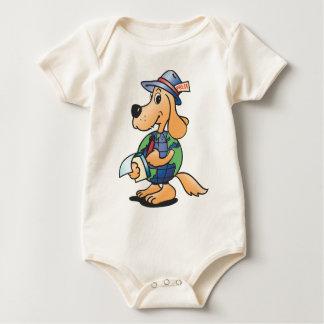 Earth Dog Reporter Baby Bodysuit