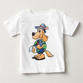 Earth Dog Reporter Baby T-Shirt