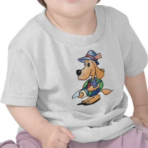Earth Dog Reporter Tshirt
