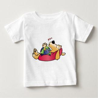 Earth Dog Sleeping Baby T-Shirt