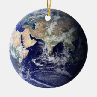 Earth double-sided ornament