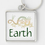 Earth Dragon Key Chain