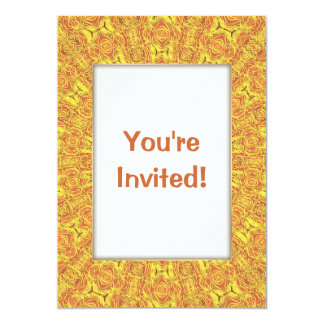 EARTH Element Contours Pattern 5x7 Paper Invitation Card