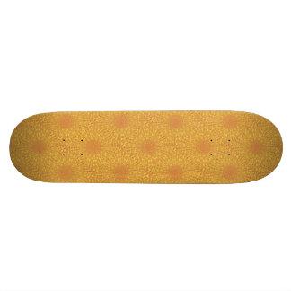 EARTH Element Contours Pattern Skate Board