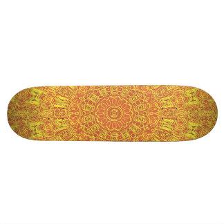 EARTH Element Contours Pattern Skateboard Deck