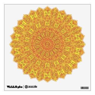 EARTH Element Contours Pattern Wall Sticker