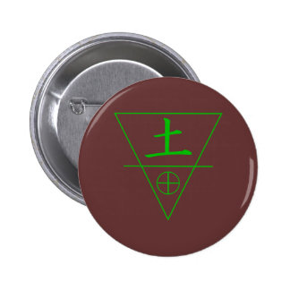 Earth Element Pinback Button