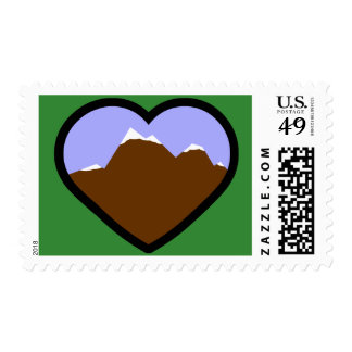 Earth Elemental Heart Stamps