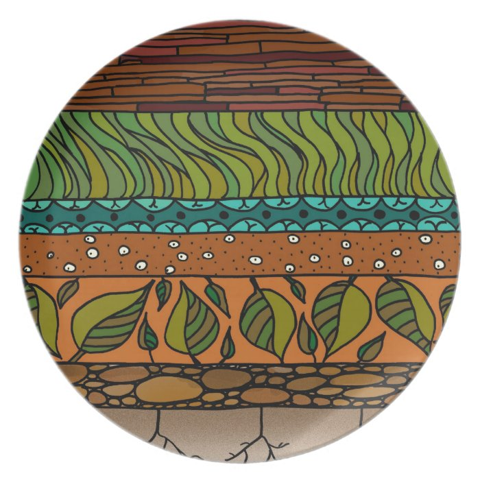 Earth Elements Dinner Plate