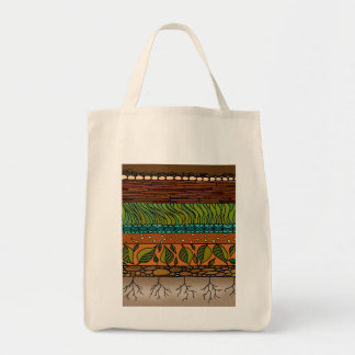 Earth Elements ~ Grocery Tote