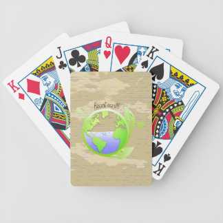 Earth, Environment Bicycle Playing Cards