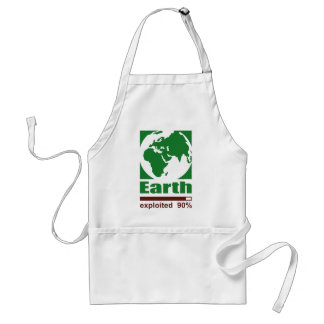 Earth: exploited - adult apron