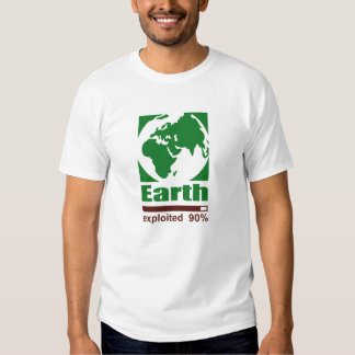 Earth: exploited - Men's T-Shirt