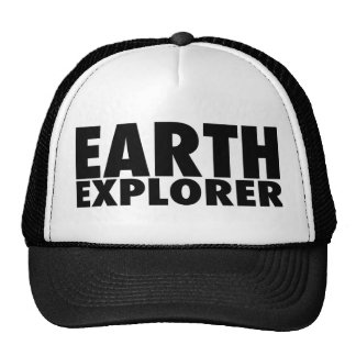 EARTH EXPLORER Hat