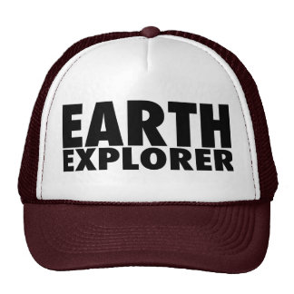 EARTH EXPLORER TRUCKER HAT