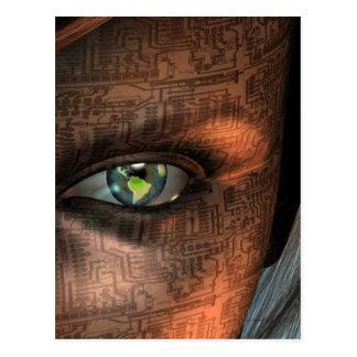 Earth Eye Post Card