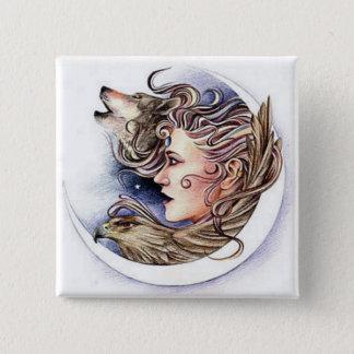 Earth Fairy Pinback Button