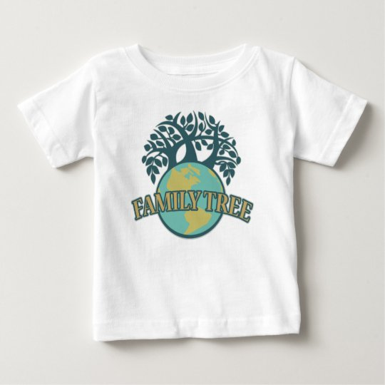 Earth Family Tree Baby T-Shirt