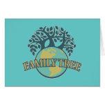 Earth Family Tree Card