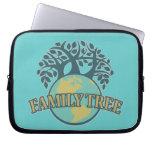 Earth Family Tree Computer Sleeve
