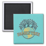 Earth Family Tree Magnets