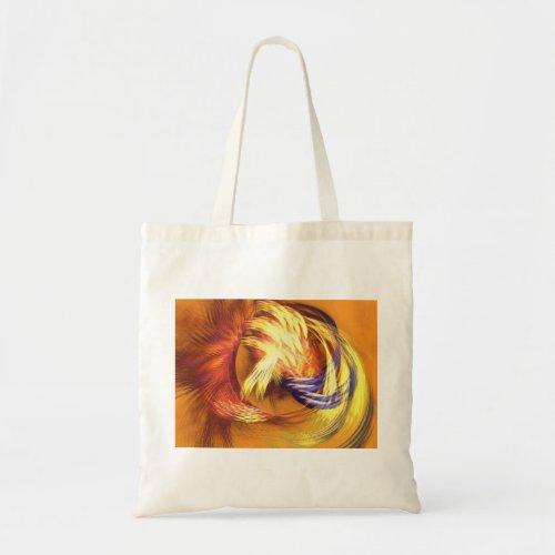 Earth Feathers Shopping Bag zazzle_bag