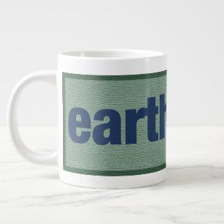 earth first. giant coffee mug